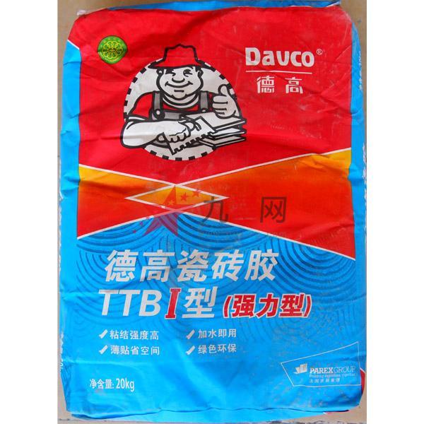 德高瓷砖胶TTBI型 超强力 20kg图片