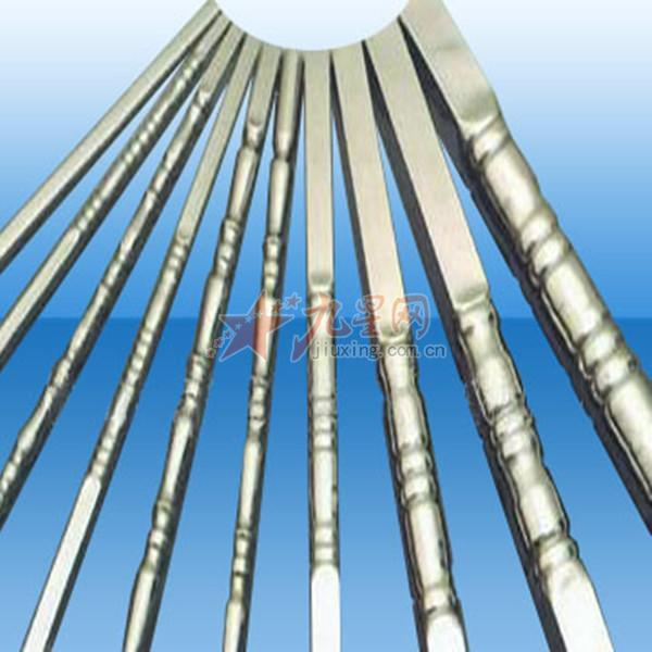 不锈钢管 压花管花纹管