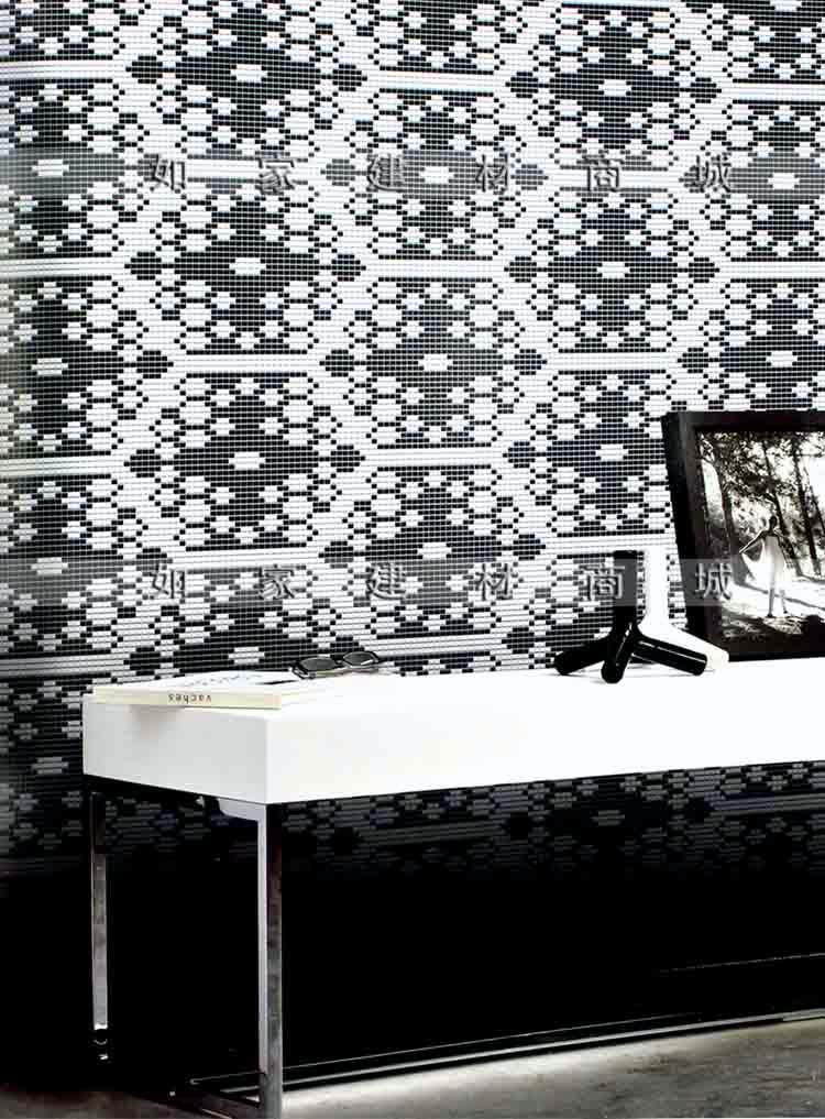 【如家建材商城】专业马赛克拼图-欧式背景墙面拼花,可来图定