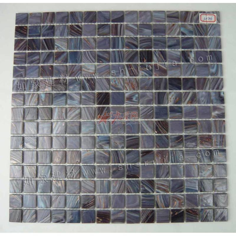 【如家建材商城】石纹金线玻璃马赛克瓷砖