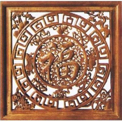 大福中式木雕花格afw413