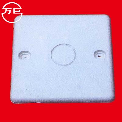 万巨 回料接线盖板 86接线盒盖板 暗盒保护盖 接线盒内盖板