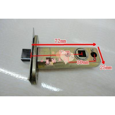 高档单锁舌 插芯锁体锁芯