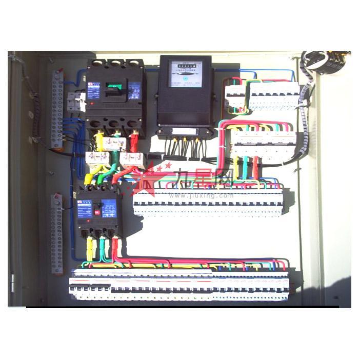 交流频率50hz,额定电压380v以下的电力系统,作为动力配电,照明配电和
