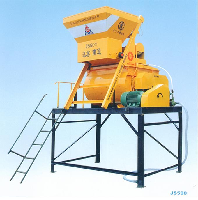 js500双卧轴强制式搅拌机