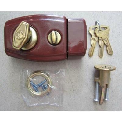 老式撞锁大   a1939牛头牌弹子门锁使用说明书29 竖   图门锁锁舌结构