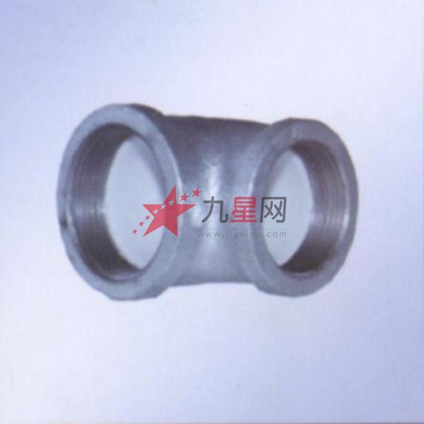 财馨 管道管件 90度方边钢塑弯头