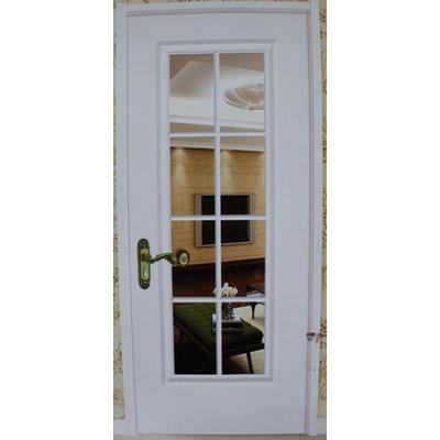 欧式白色复古烤漆门015