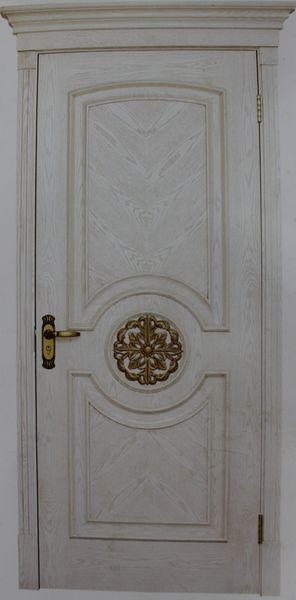 奢华欧陆经典 欧式白色复古烤漆门009