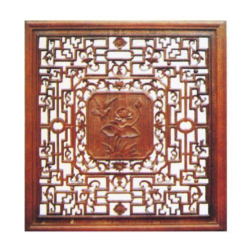 木制工艺雕刻 木制工艺雕刻 > 佳乐木制品 精品木雕窗花jl-4