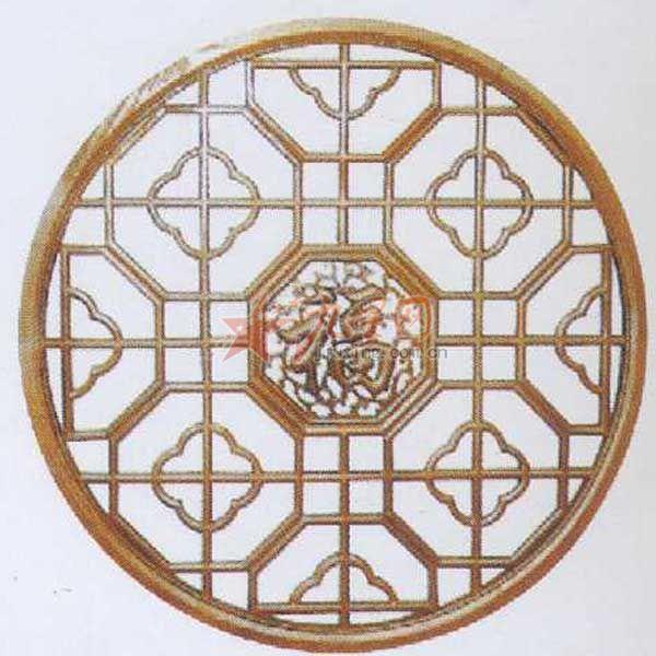 佳乐木制品 精品数控数控木制雕花 窗花t-004