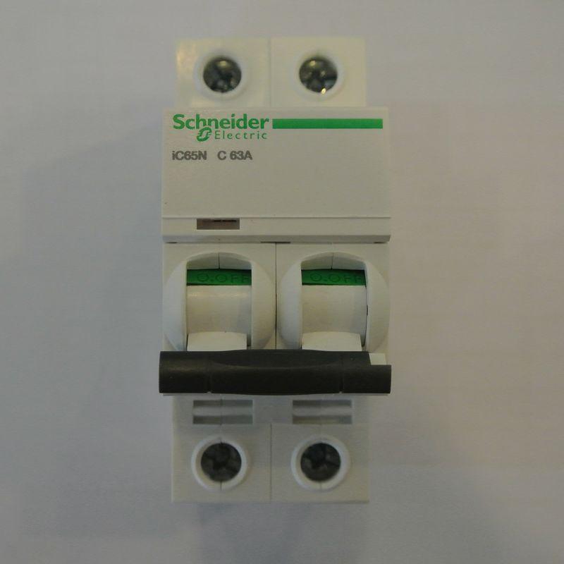 施耐德 ic65 2p 63a