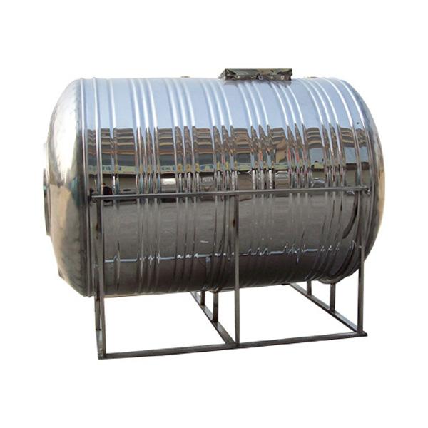 卧式不锈钢圆柱形水箱