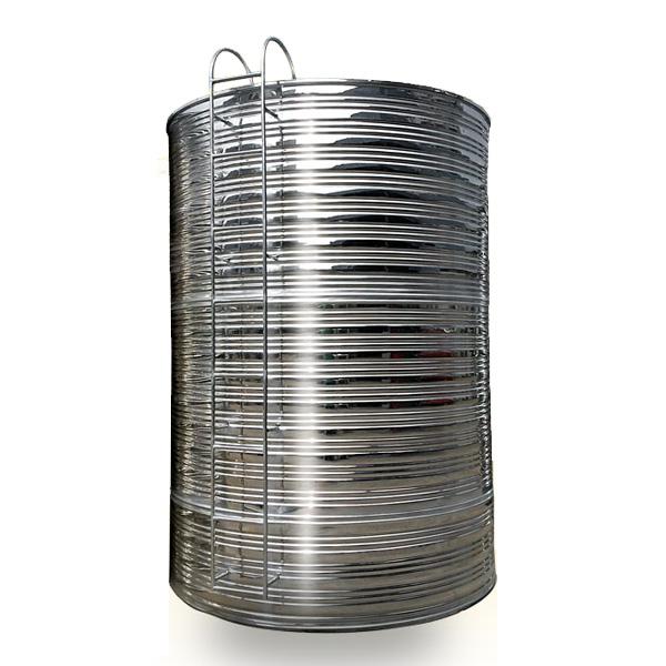虹皖不锈钢 不锈钢圆柱型保温水箱