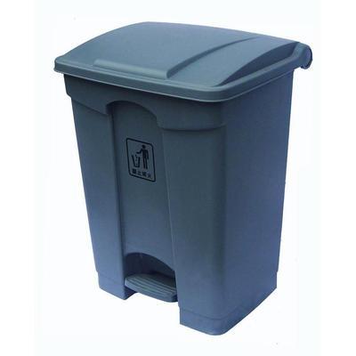 68l脚踏式垃圾桶/翻盖桶/塑料垃圾桶/清洁桶