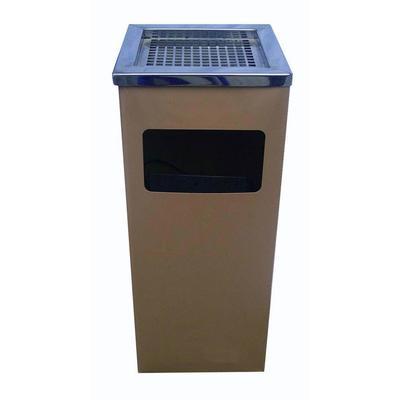 烤漆方型烟灰桶/不锈钢垃圾桶/清洁桶