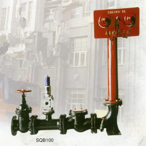 诸安sqb100墙壁水泵接合器