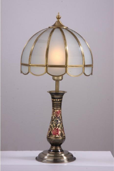 简欧式全铜台灯