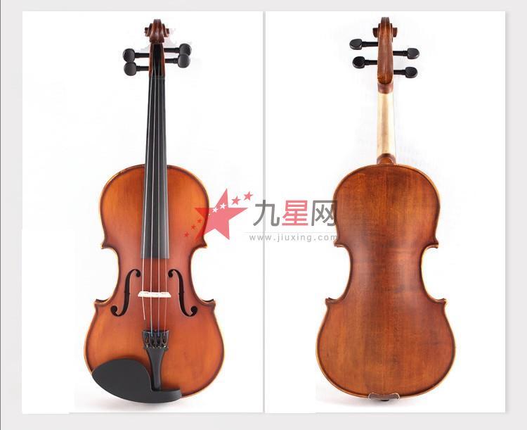 凤灵小提琴/手工制作吊木筋嵌线复古哑光小提琴图片