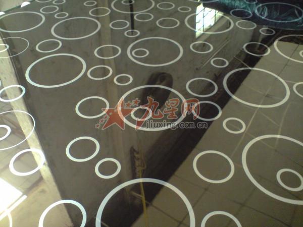彩色不锈钢圆圈黑钛镜面花纹板;