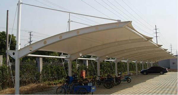 钢结构工程 车库出入口