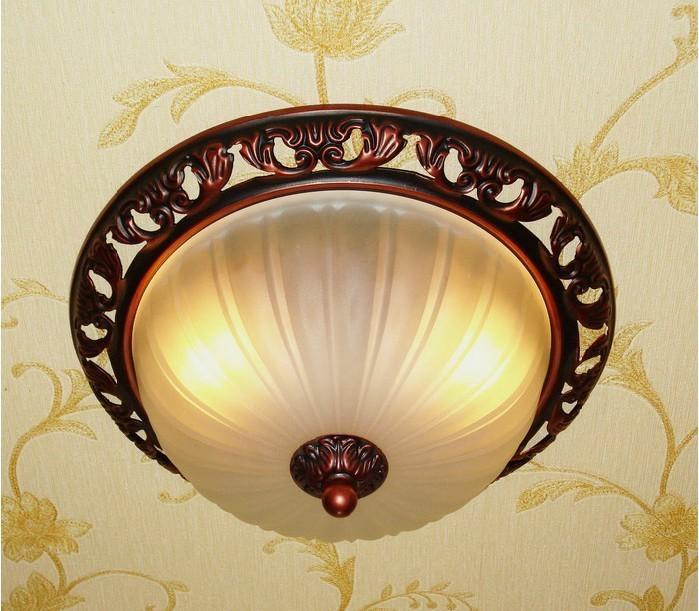 欧式灯 简欧 田园风格 门厅过道厨卫阳台 吸顶灯