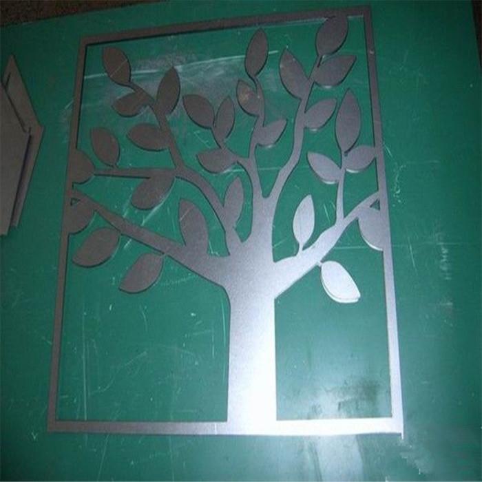 聂恒 不锈钢艺术切割 幸福树造型 来图来样订做加工 nh-64