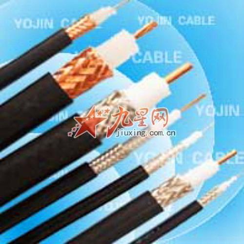 型号及名称 syv 实芯聚乙烯绝缘,聚氯乙烯护套同轴射频电缆