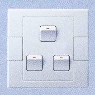 三联双控小按钮开关