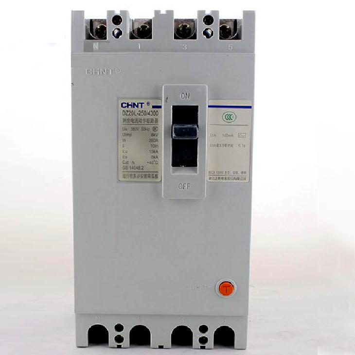 正泰dz20l-250/4300漏电保护器