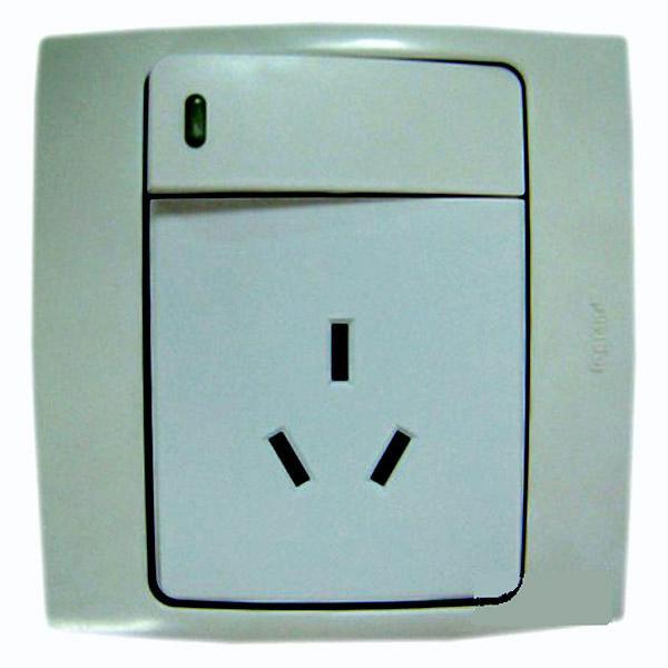 首页> 搜索 > tcl插座           tcl三极带开关指示灯插座 280104.