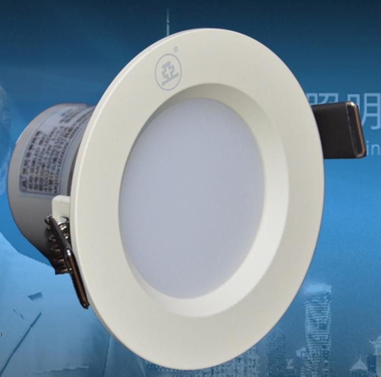 上海世纪亚明led筒灯 3w4w6w12w亚明led筒灯卧室客厅射灯