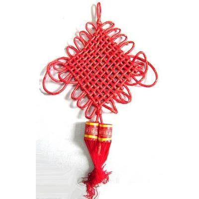 意结 过年装饰红红火火