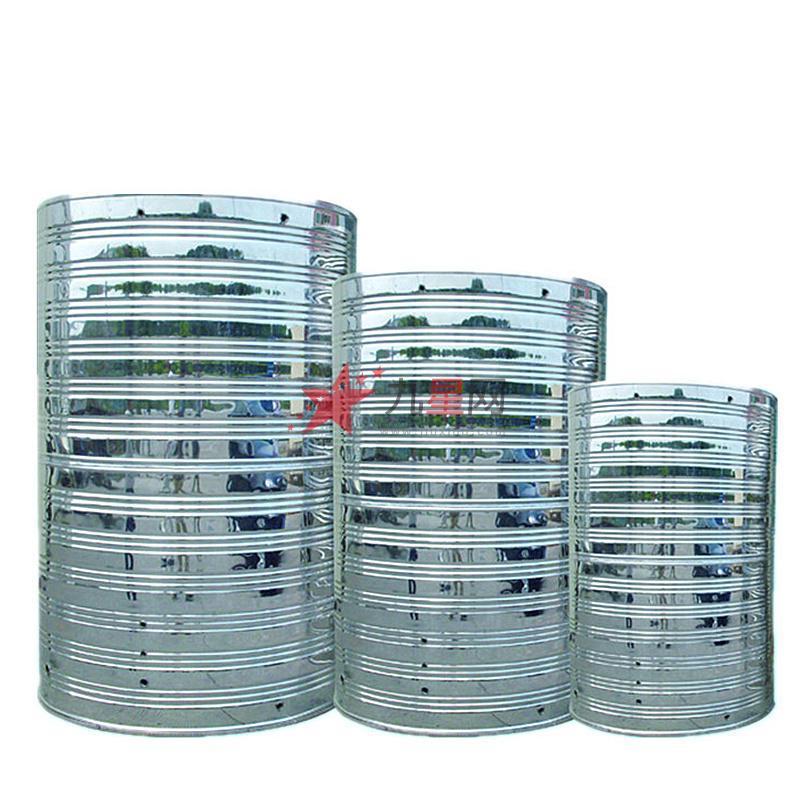 水箱的溢流管与水箱的排水管阀后连接并设防虫网