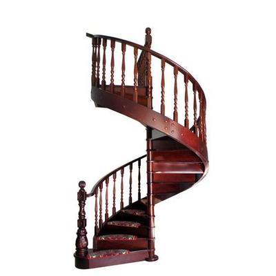 实木旋转楼梯图片展示_第3页_设计图分享