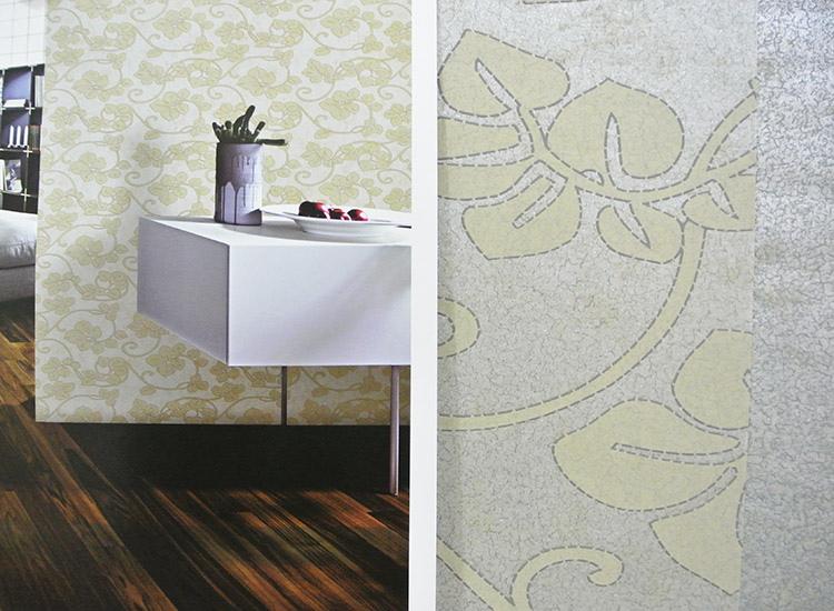 线型花卉图案欧式简朴背景墙纸客厅餐厅卧室