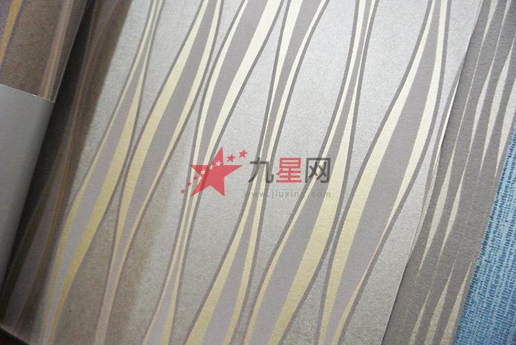 奢华曲线波纹墙纸低调奢华背景墙卧室