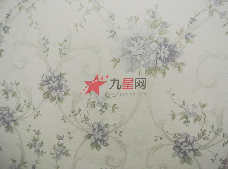 田园小碎花-浮雕-无纺布墙纸-温馨浪漫-卧室墙纸壁纸