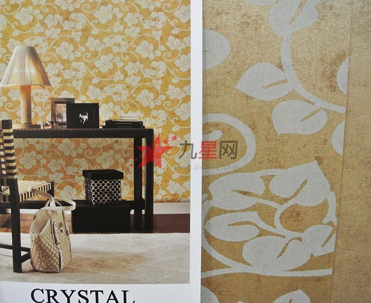 花卉图案欧式简朴背景墙纸客厅餐厅卧室2