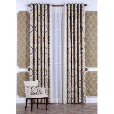 奥坦斯 新中式新古典欧式大气凌形 定制窗帘
