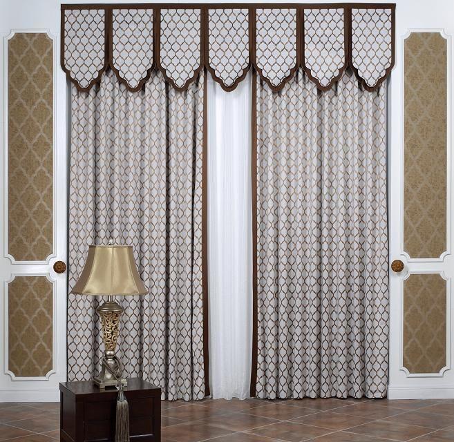 奥坦斯 新中式新古典欧式凌形 定制窗帘