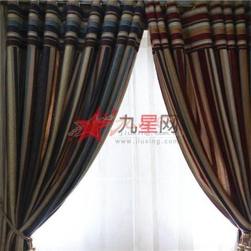 叶佳布艺 卧室客厅 英式窗帘图片