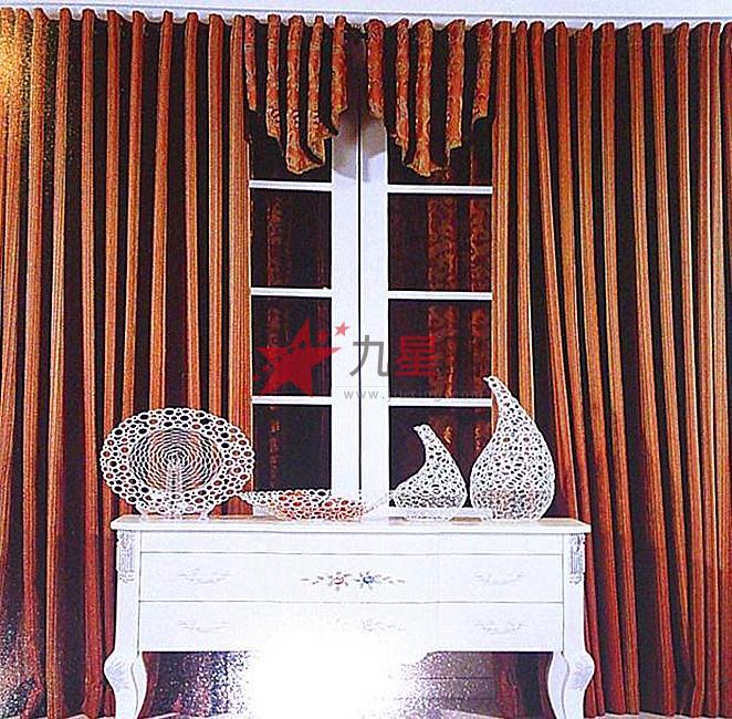 辉煌软装 欧式风格 深色系列窗帘