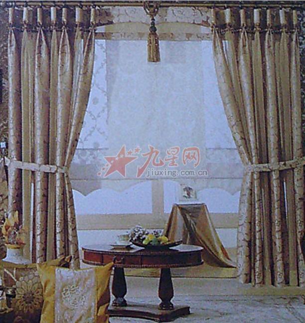 商品名称:欧式风格 复古窗帘