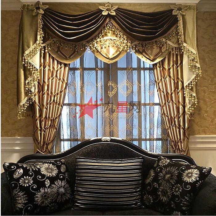 现代简约, 欧式, 中式, 美式田园,英式田园, 雅致风格, 地中海式 窗帘图片
