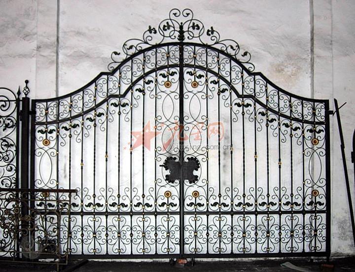 栅栏门效果图手绘