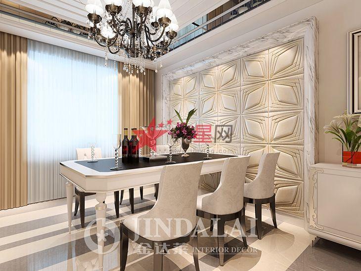 客厅电视墙 形像墙 沙发立体背景墙 皮雕软包 艺术 欧式装修材料高清图片
