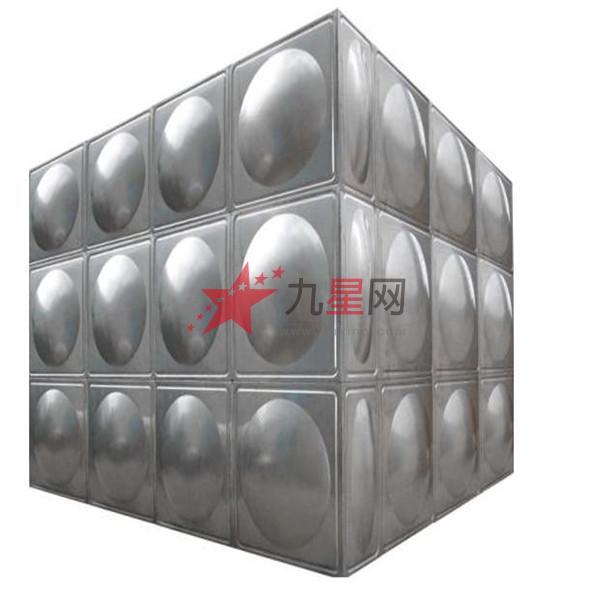 各种室外大型加工-不锈钢焊接式常压水箱加工