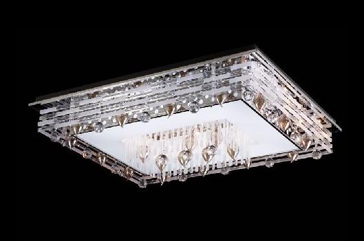 欧普灯具 欧普水晶灯系列 jc003现代简约高档水晶图片