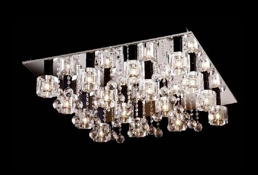 欧普灯具 欧普水晶灯系列 jc007现代简约高档水晶图片